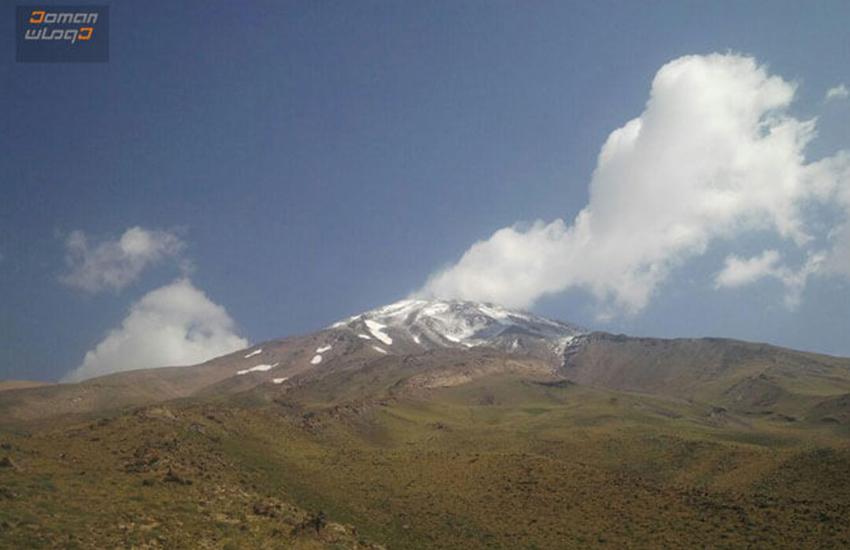 دامنه های قله دماوند از جبهه جنوبی